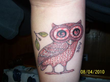 the owl of athena
