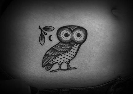 Scott Partridge Athena S Owl