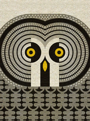 scott partridge - art o mat - great grey owl