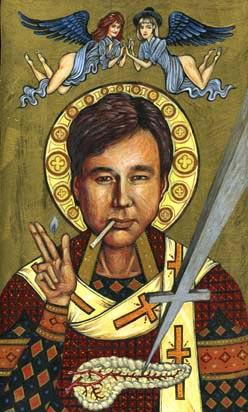 Bill Hicks Comedic Icon