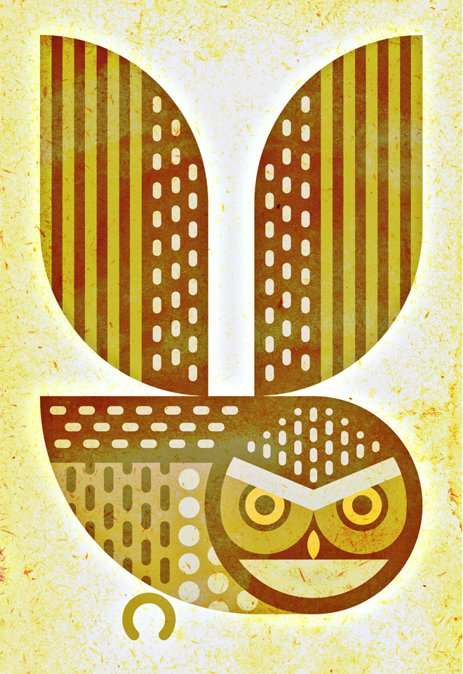 scott partridge - art o mat - burrowing owl