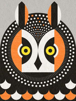 scott partridge - art o mat - long eared owl