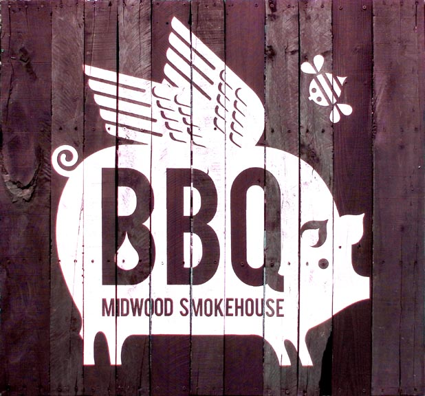 Midwood Smokehouse flying pig