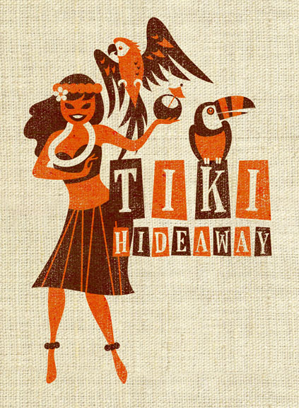 Scott Partridge - Commercial Art - Tiki Hideaway